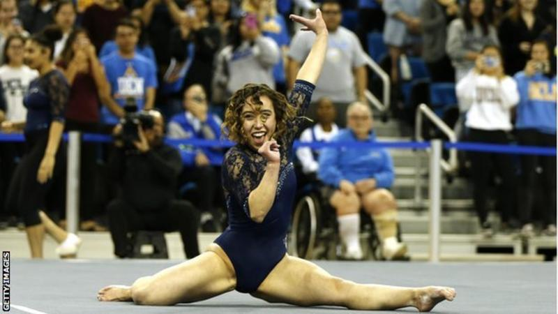 'I was told I looked like a pig' - viral gymnastic star Katelyn Ohashi's battles with body image