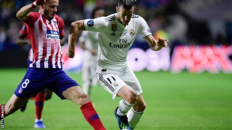 Diego SIMEONE, Angel CORREA win UEFA Super Cup with Atletico Madrid