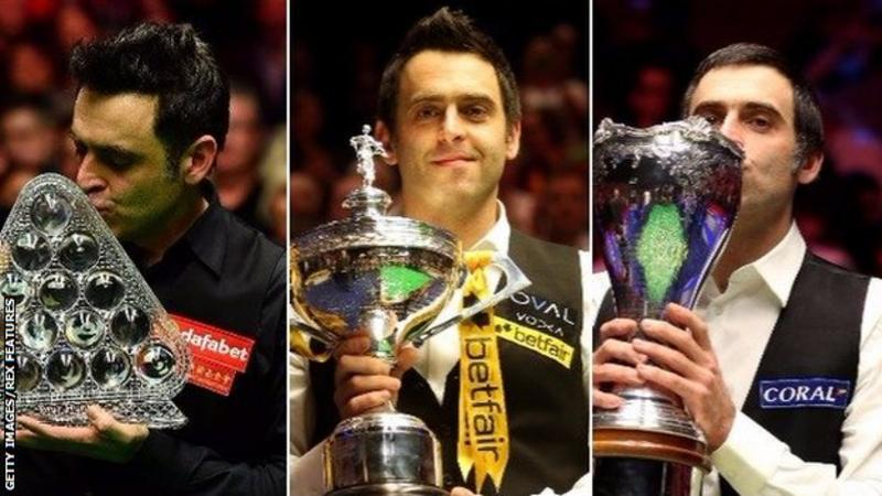 Ronnie O'Sullivan: 25 years at the top for a 'creative genius'