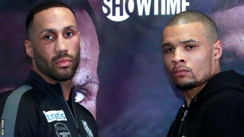 DeGale v Eubank Jr: Britons trade insults as Eubank Snr admits he is 'petrified'
