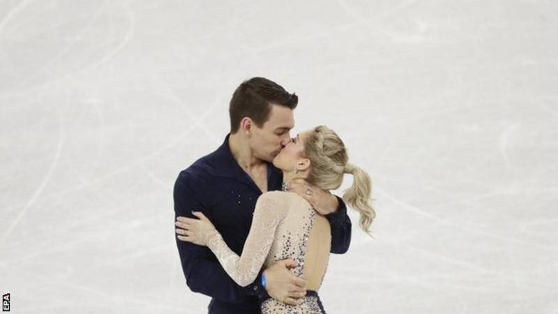 After Learning Of Shooting, Emotional US Pair Stumbles In Pairs Free Skate