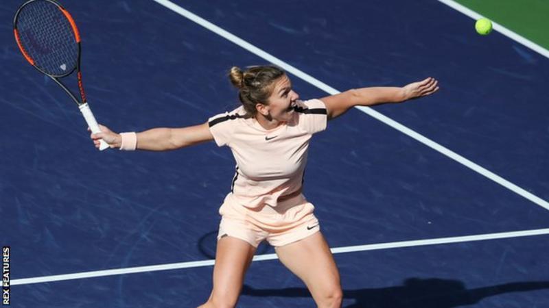 Indian Wells: Simona Halep mund Petra Martic në tre sete që të arrij në gjysmë-finale