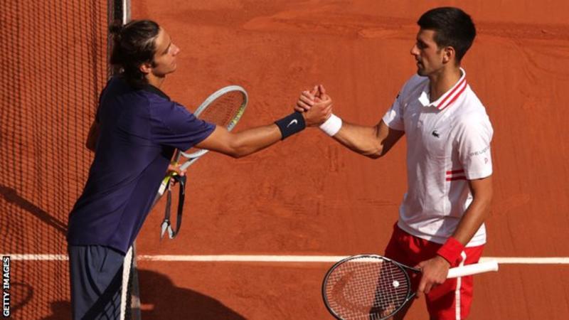 French Open 2021: Novak Djokovic survives scare to beat Lorenzo Musetti, Rafael Nadal also in last eight