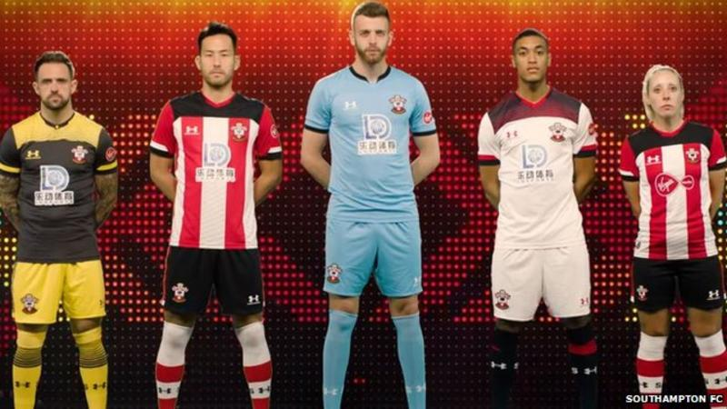 The Southampton FC kit has been launched in a Fyre Festival mockumentary