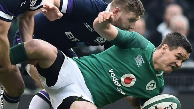 Finn Russell: Racing 92 will 'really suit' Scotland fly-half - Johnny Sexton