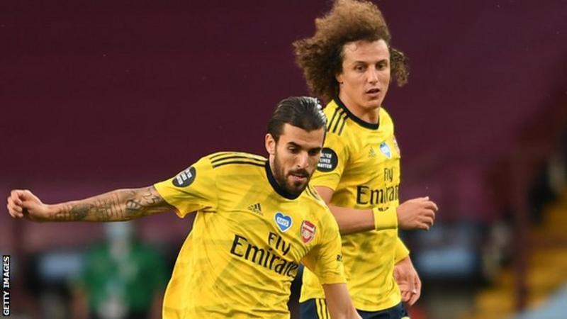 Dani Ceballos and David Luiz: Leaked training incident angers Arsenal boss Mikel Arteta