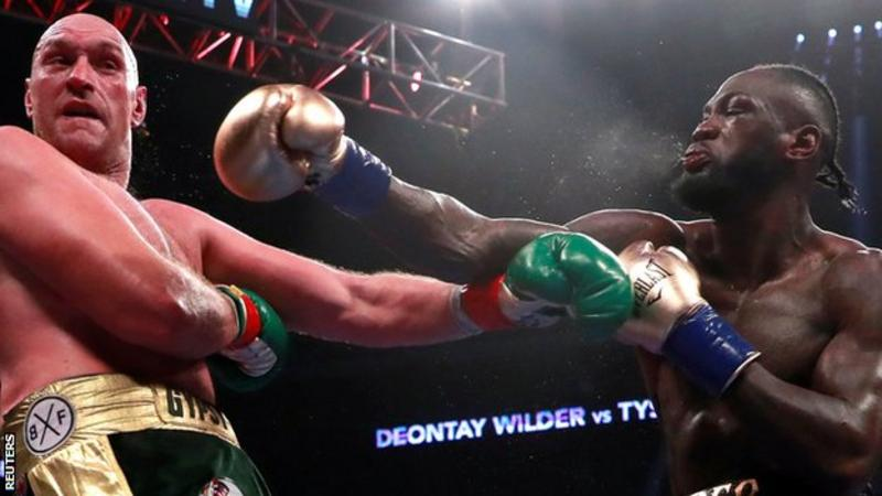 Wilder v Fury: Stunning draw in WBC world heavyweight title fight