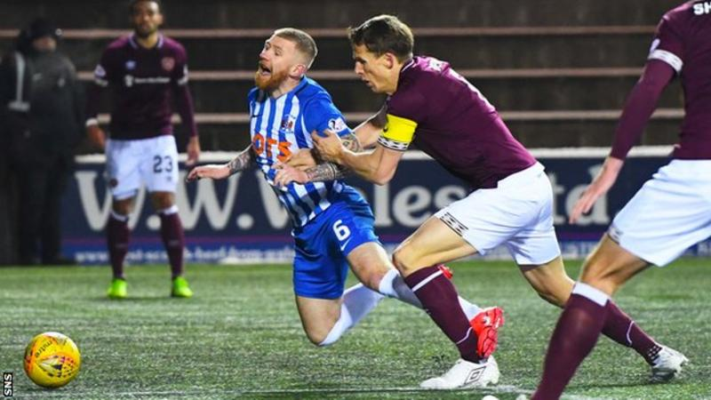 Kilmarnock 1-2 Hearts: Hosts miss chance to close gap on leaders Celtic