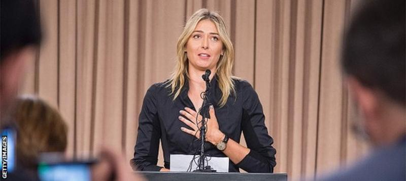 Maria Sharapova's drugs test announcement polarises opinions
