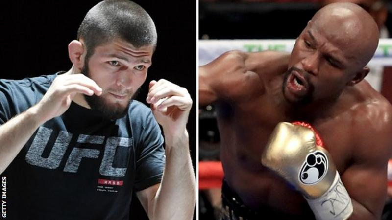 Khabib Nurmagomedov: Russian UFC fighter wants Floyd Mayweather bout in Moscow