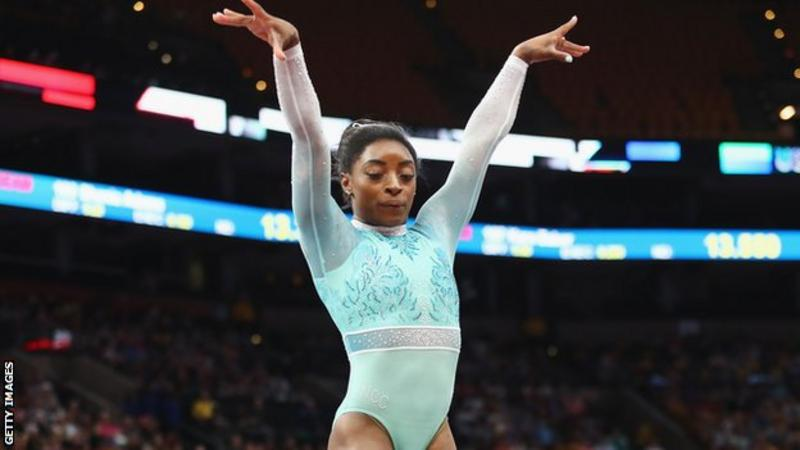 Simone Biles: Speaking about Larry Nassar abuse empowered me