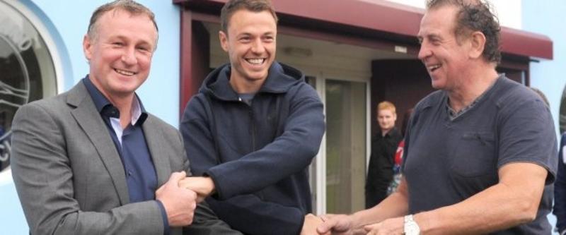 Evans praise for Greenisland club's NI production line