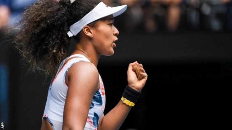 Naomi Osaka through to second round