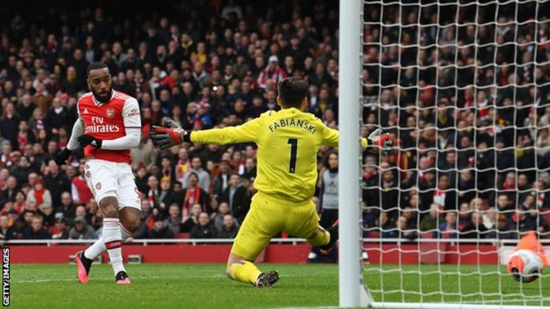 Arsenal 1-0 West Ham: Alexandre Lacazette Gives Gunners