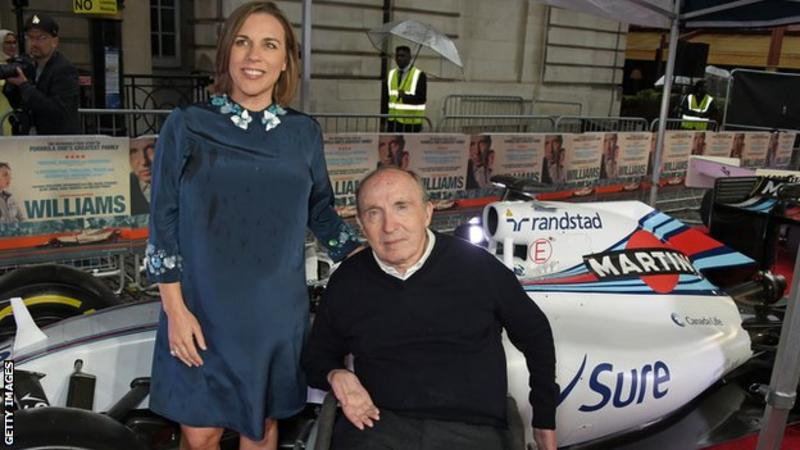 Formula 1: Williams up for sale after £13m loss last year _112548416_claireandfrankwilliams