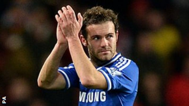 Juan Mata: Manchester United sign Chelsea midfielder for £37.1m