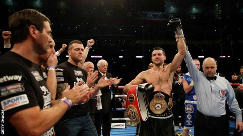 Carl Froch v George Groves: One small mistake, one great punch