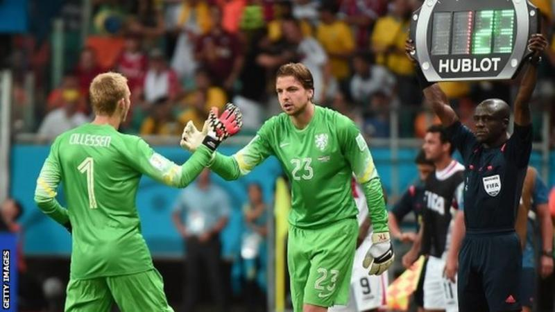 Tim Krul: How the 120th-minute substitute stole Dutch glory