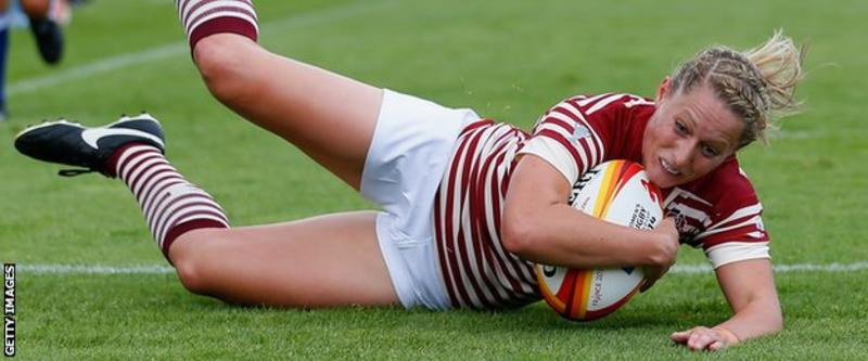 Women's Rugby World Cup: England crush Samoa 65-3