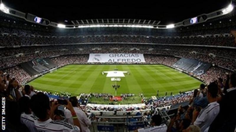 Real Madrid to rename stadium Abu Dhabi Santiago Bernabeu
