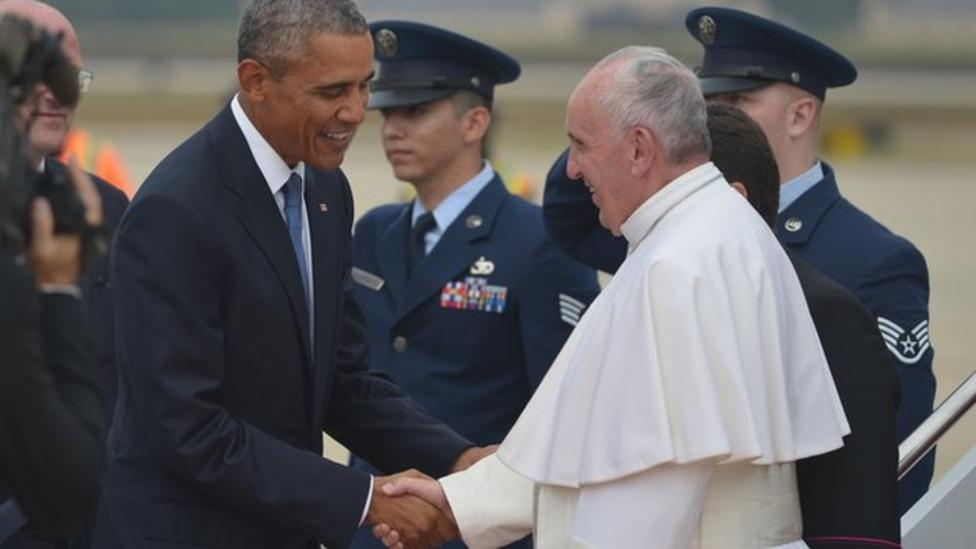 Pope Francis visits US for first time