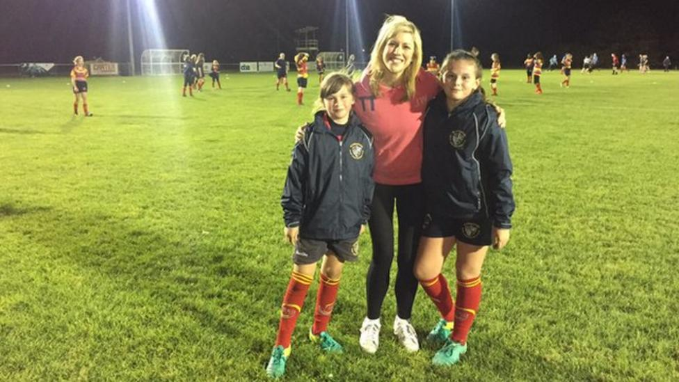 Why more girls are getting into rugby