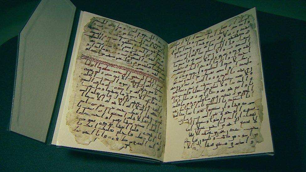 'Oldest' pages of Koran found