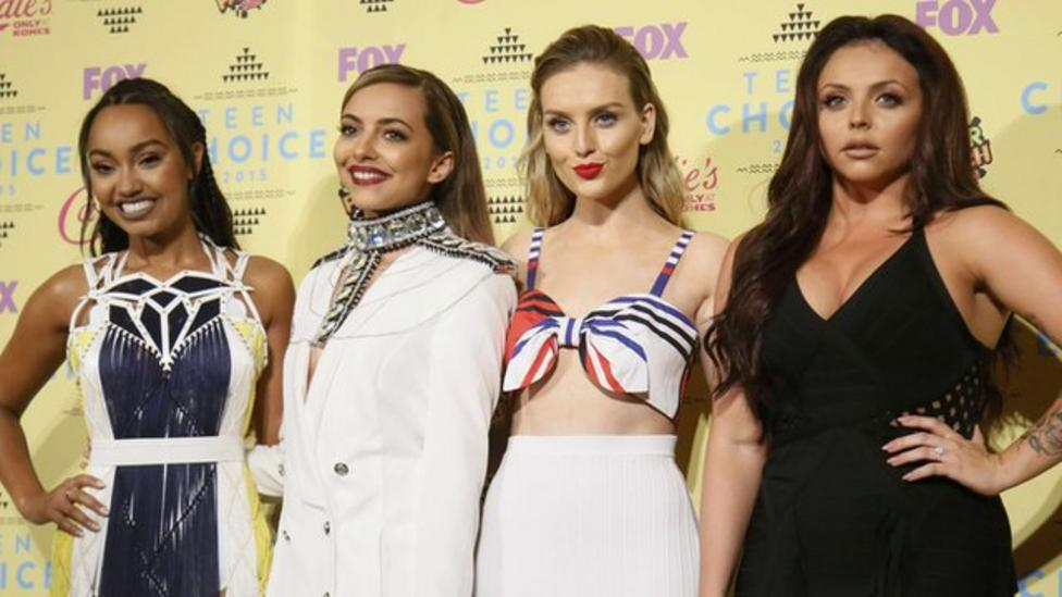 Little Mix celebrate four years