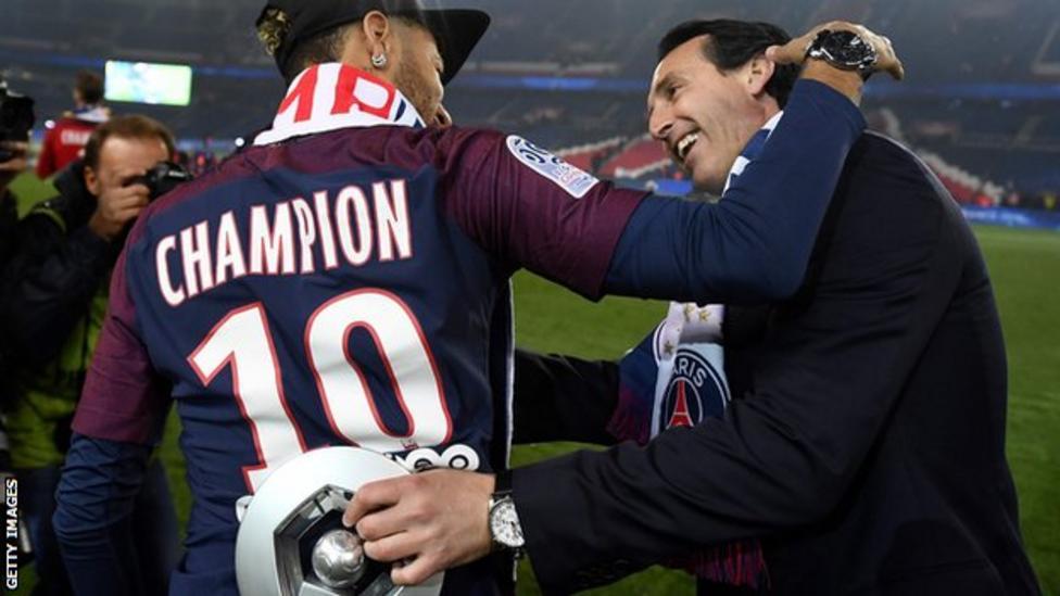 Емері виграв чемпіонство Франції при допомозі Неймара