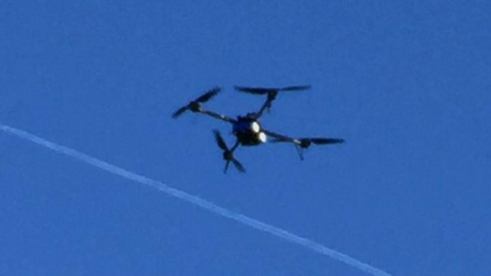 Drone makes first English Channel crossing