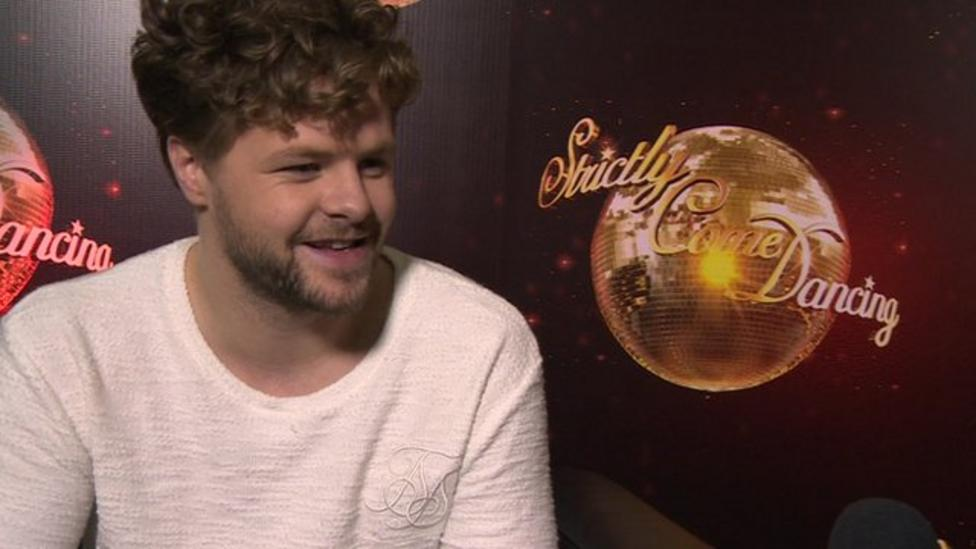 Does Strictly's Jay feel pressure?