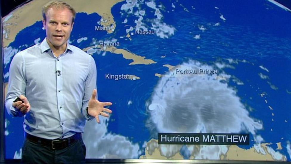Hurricane Matthew: Where next?