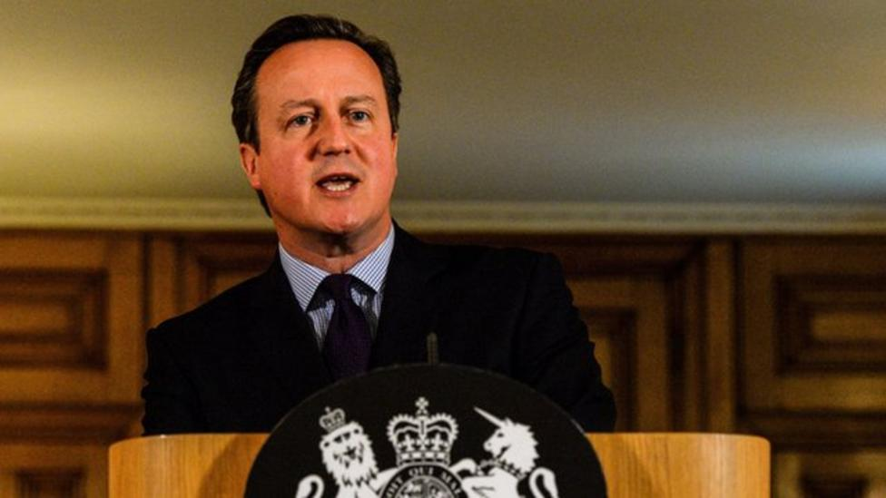 David Cameron speaks about Paris attacks