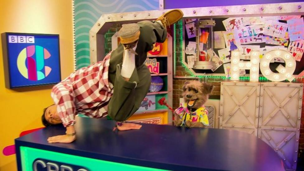 CBBC takes on the Mannequin Challenge