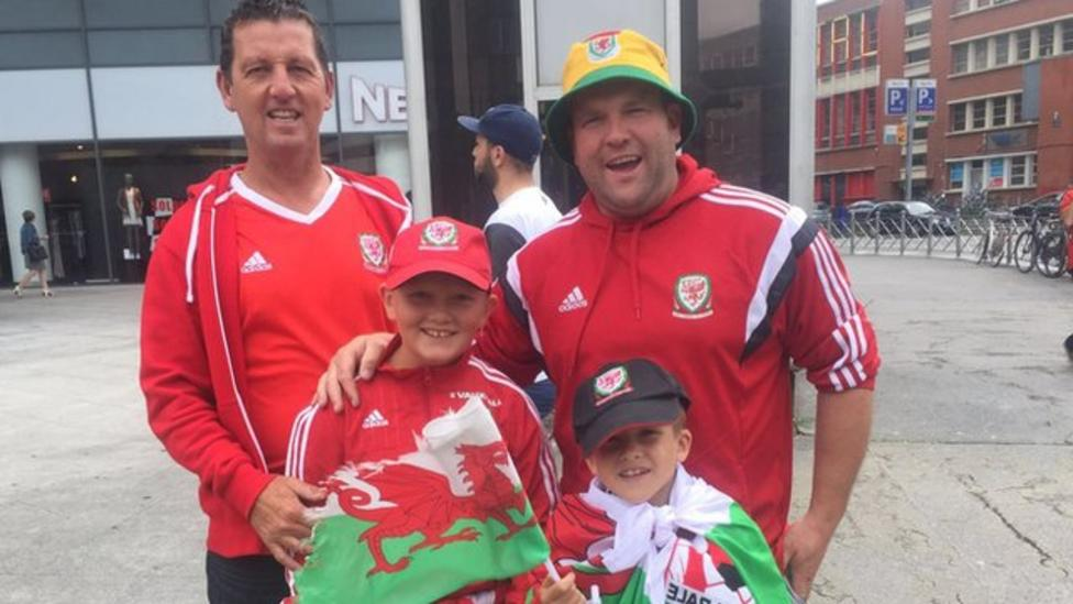 Wales fans: 'We can go all the way!'