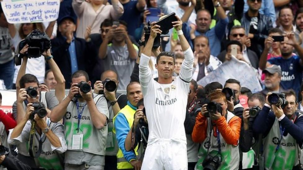 Ronaldo's goals record in numbers