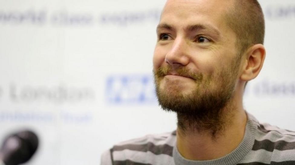 British Ebola patient leaves hospital