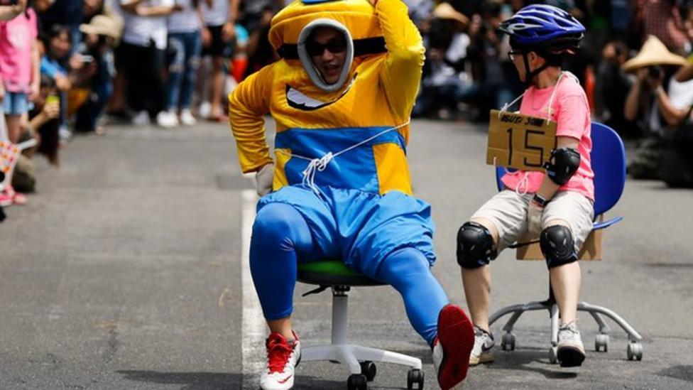 Chair racing championships
