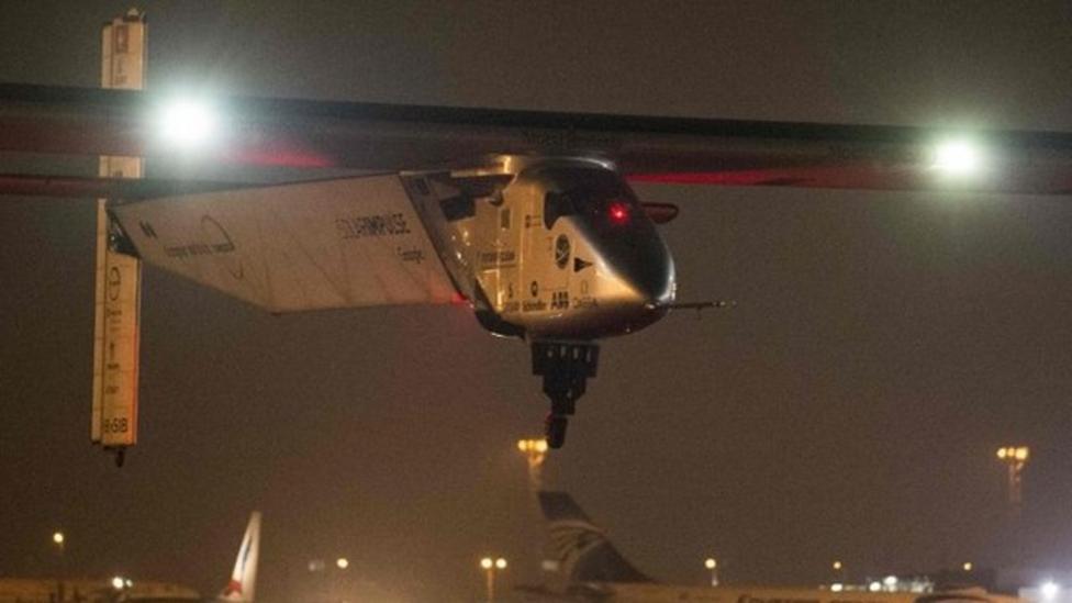 Solar Impulse plane starts final flight