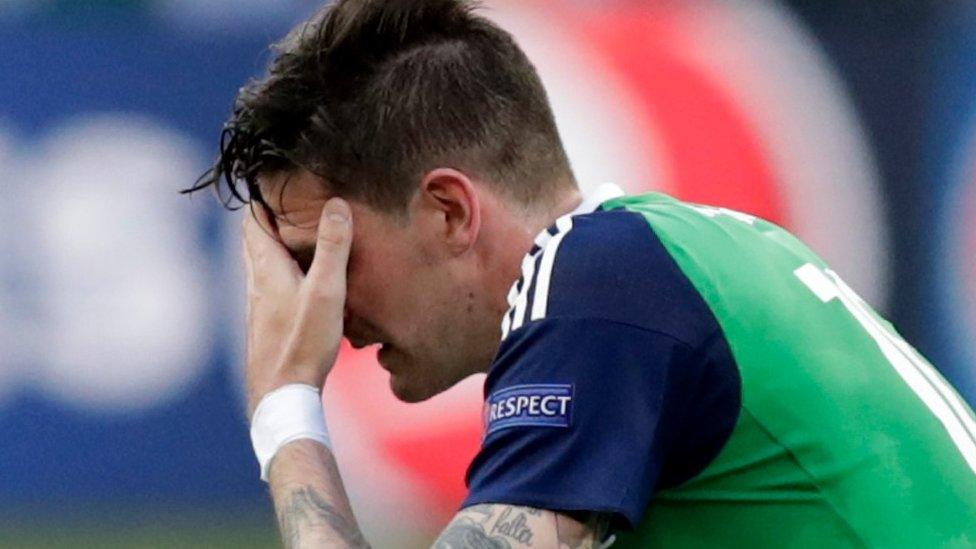 N Ireland fans react to Euros defeat