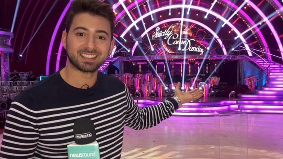 Behind the scenes at Strictly