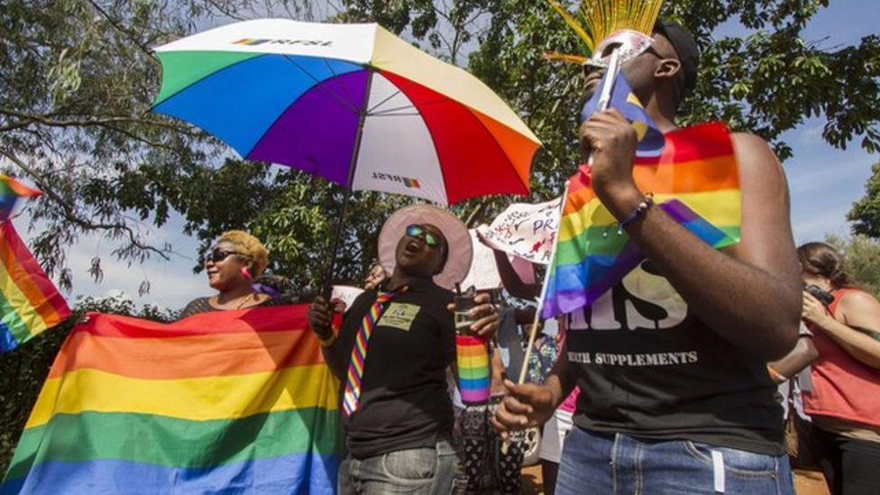 Ugandan activists celebrate gay pride