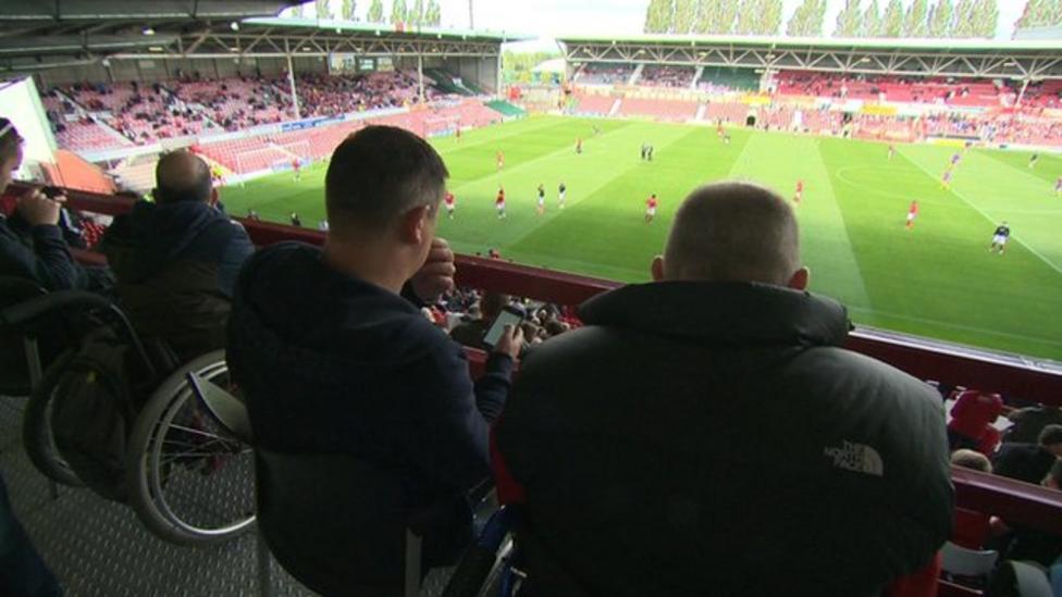 Premier League disabled fans warning