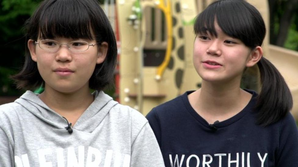 Leah meets kids still affected by the Japanese tsunami