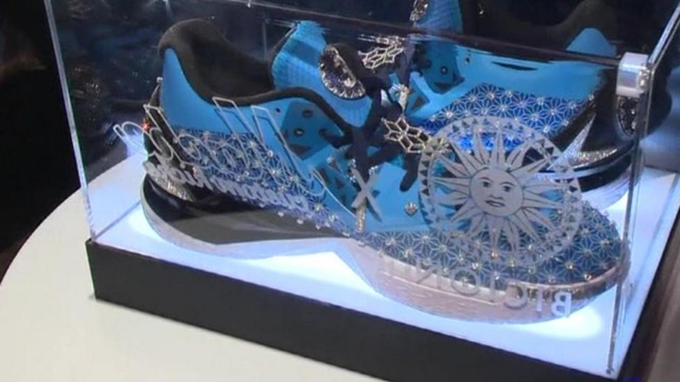 1833fe5af5dae How much  These are the world s most expensive trainers - CBBC Newsround