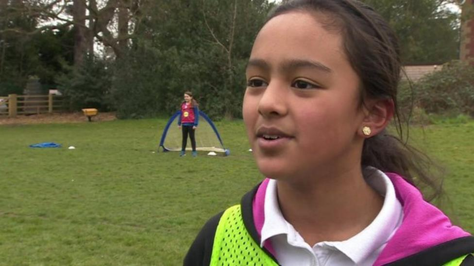 Leicester's footy success inspires girls