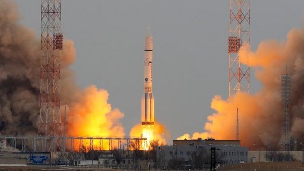 ExoMars mission blasts off to Mars