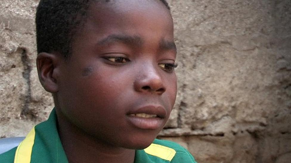 Dampson's story: Rescued from child labour