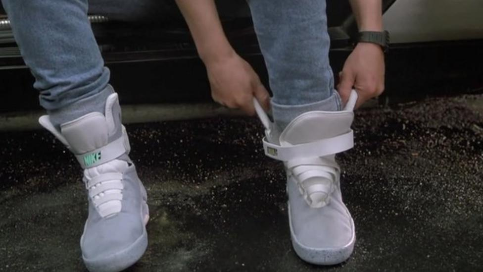 """Back to the Future """"power laces"""" to be released"""