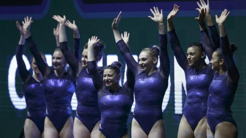 GB women gymnasts make history